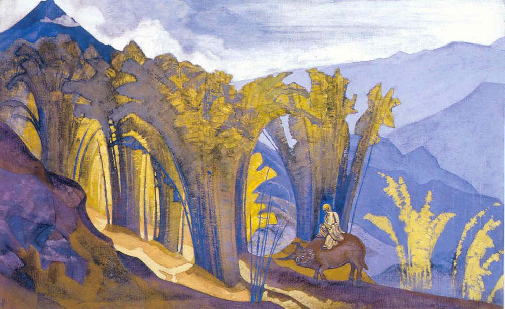 Н.К.Рерих. Лао-Цзы. Серия «Знамёна Востока». 1924